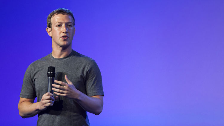Mark Zuckerberg, chief executive officer of Facebook Inc., is boosting spending to expand internationally, hire more and invest in new initiatives. Photographer: Udit Kulshrestha