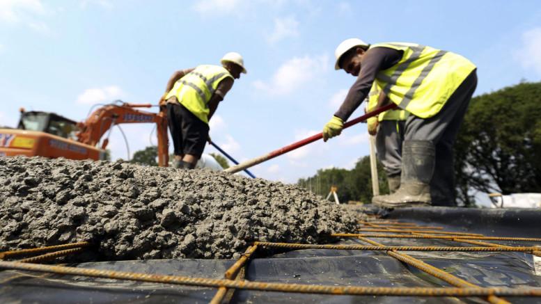 HeidelbergCement AG, the world's third-largest cement maker. Photographer: Chris Ratcliffe/Bloomberg