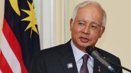Malaysia's Prime Minister Najib Razak Goh Seng Chong