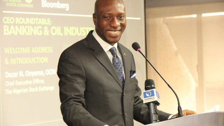 CEO of the Nigerian Stock Exchange (NSE), Mr. Oscar Onyema