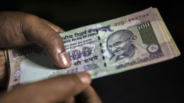 Indian Rupee. Photographer: Prashanth Vishwanathan