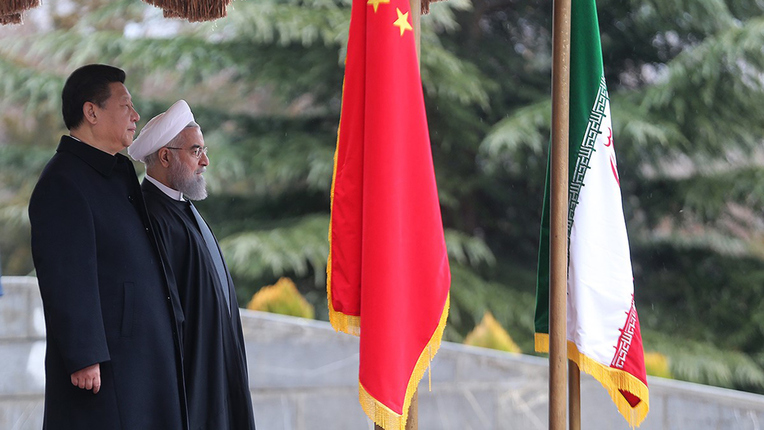 Iran and China agree to $600 billion