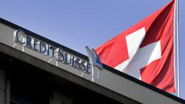 A Credit Suisse branch in Geneva