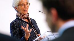 IMF director Christine Lagarde