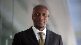 Oscar Onyema, chief executive officer of the Nigeria Stock Exchange. Photographer: Simon Dawson