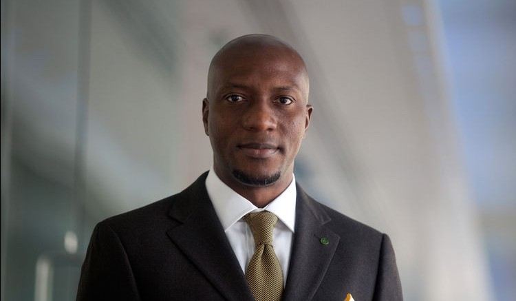 Oscar Onyema, chief executive officer of the Nigeria Stock Exchange. Photographer: Simon Dawson