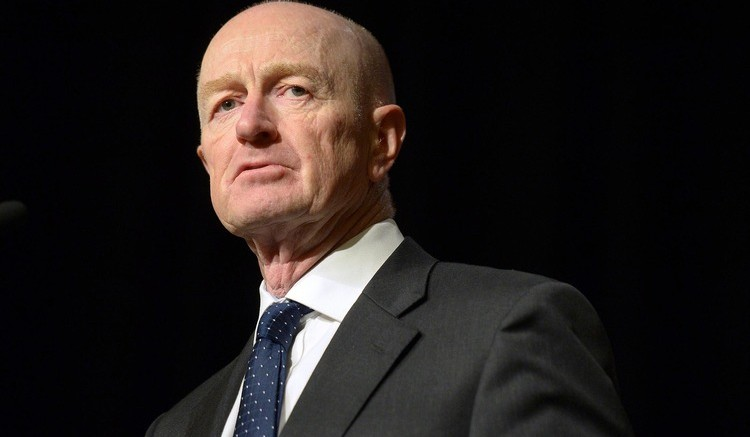 Glenn Stevens, Governor of the Reserve Bank of Australia. Photographer: Carla Gottgens