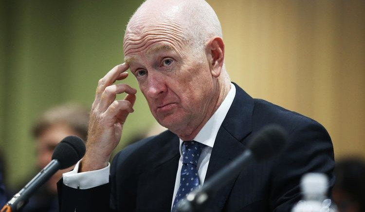 Glenn Stevens, governor of the Reserve Bank of Australia. Photographer: Brendon Thorne