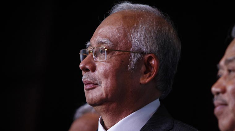 Malaysian Prime Minister Najib Razak, in an interview Thursday April 9, 2015. (AP Photo/Joshua Paul)