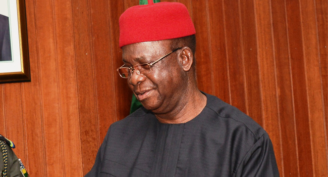 Former governor of Ebonyi state, Martin Eelechi