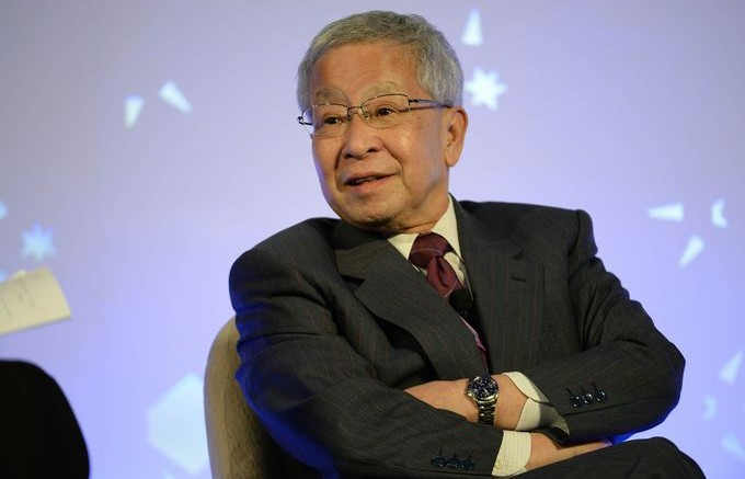 Former Vice Minister of Finance of Japan Eisuke Sakakibara. Photographer: Prakash Singh/AFP via Getty Images