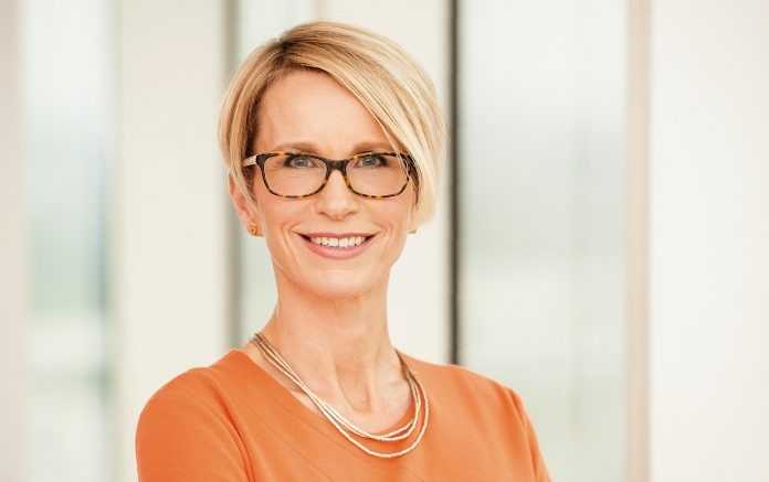 GlaxoSmithKline's new CEO designate, Emma Walmsley / AFP PHOTO /