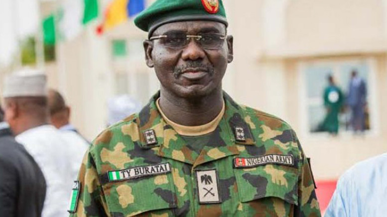 Chief of Army Staff, Gen. T. Y. Buratai