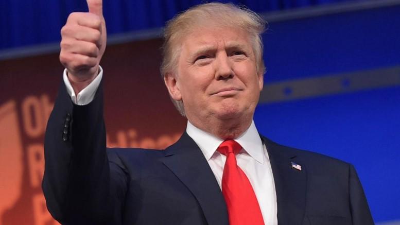 The U.S. President-elect Donald Trump