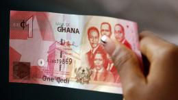 A Ghana cedi banknote. Photographer: Ssouf Sanogo/AFP/Getty Images