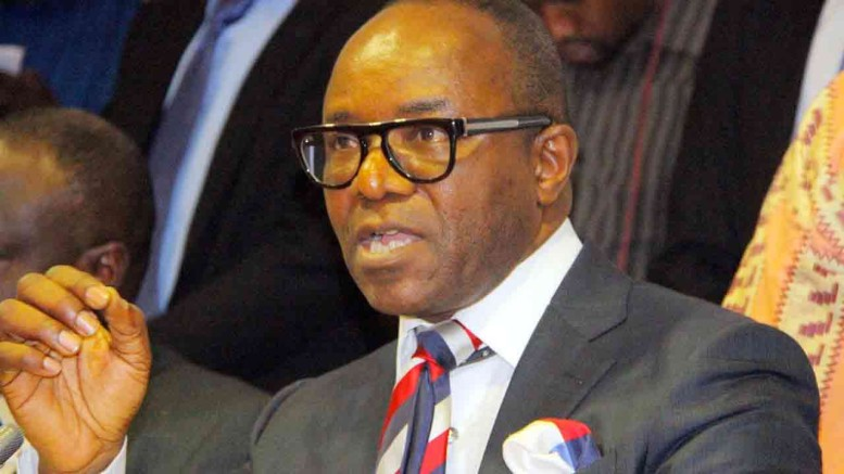 Minister of Petroleum Resources, Emmanuel Ibe Kachikwu