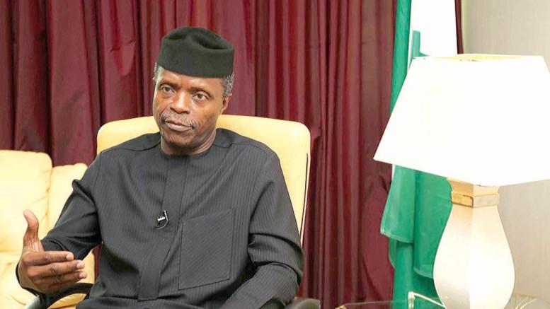 Vice President, Yemi Osinbajo