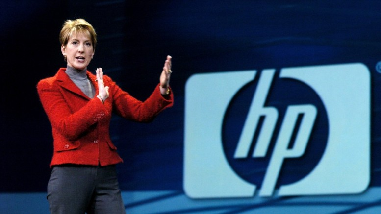 Carly Fiorina, Chairman and CEO of Hewlett-Packard