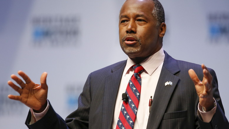 Dr. Ben Carson Photo by Chris Keane/Reuters