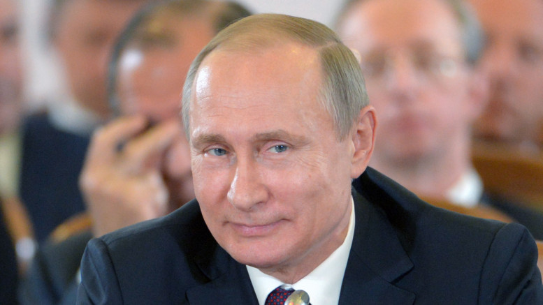 Russian President Vladimir Putin / AFP PHOTO / Host Photo Agency /
