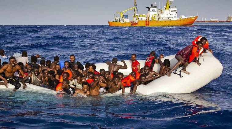 Photo: Patrick Bar/SOS Mediterranee via AP