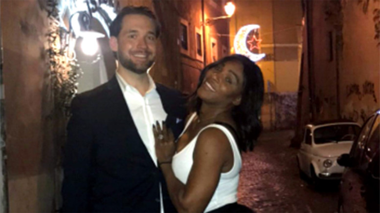 Serena Williams and Reddit co-founder Alexis Ohanian