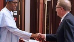 German Ambassador to Nigeria Mr. Barnhard Schlagheck