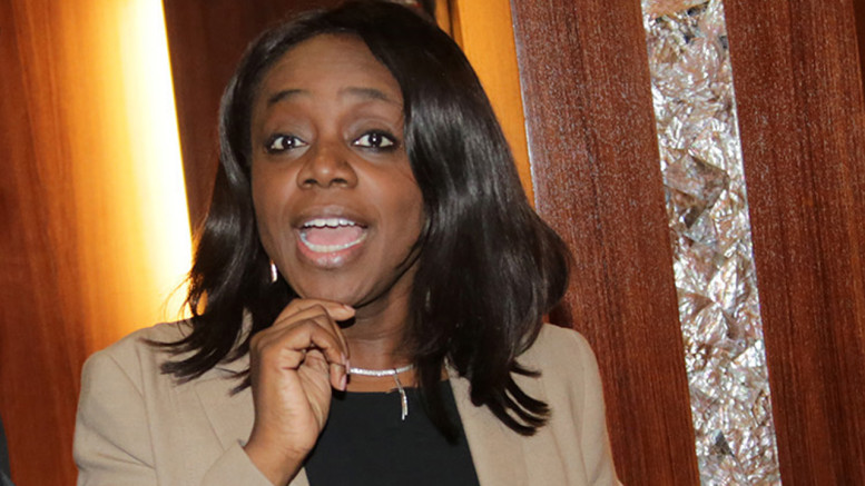 Minister for Finance, Kemi Adeosun