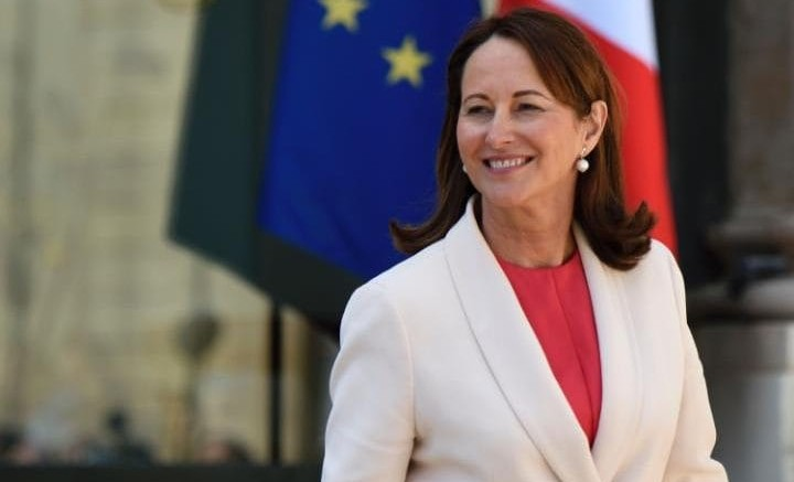 French Minister of Environment and Energy Segolene Royal
