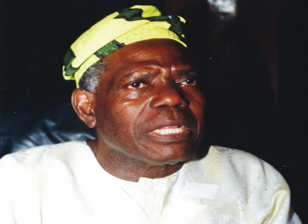 Former National Chairman of the All Progressives Congress, Chief Bisi Akande