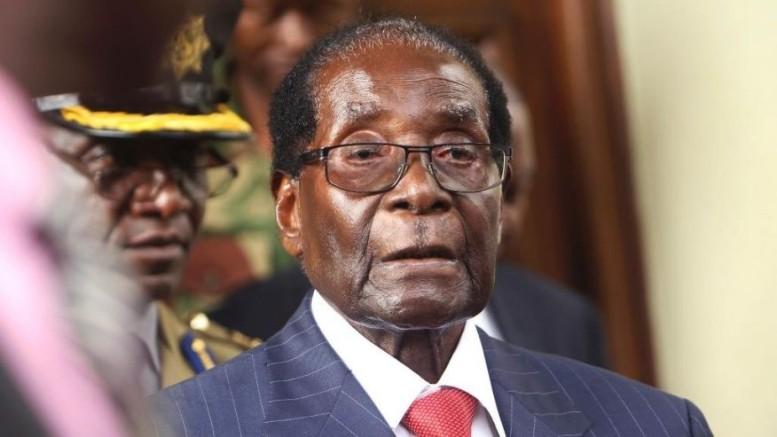 Zimbabwean President Robert Mugabe