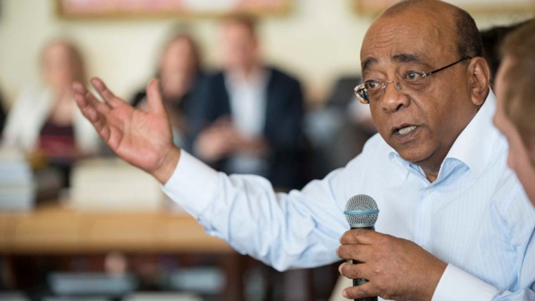 Mo Ibrahim of the Mo Ibrahim Foundation