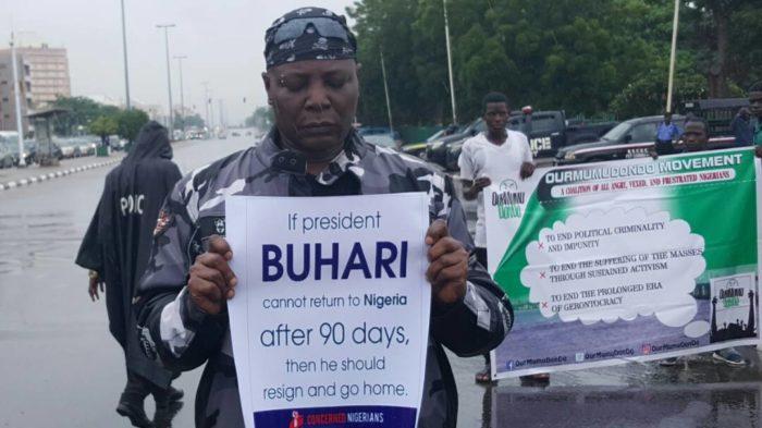 Charlie Boy Protest In Abuja