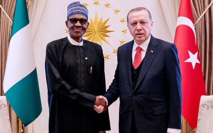 Buhari with Erdogan