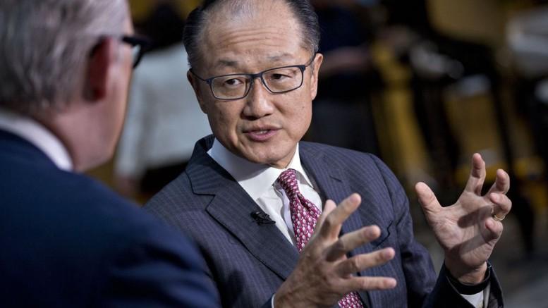 World Bank Group President Jim Yong Kim. Photographer: Andrew Harrer