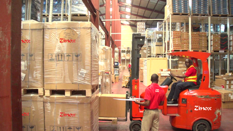 Zinox Technologies Warehouse