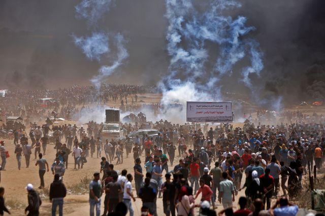 Dozens Dead as Gaza Erupts Over U.S. Embassy Move to Jerusalem