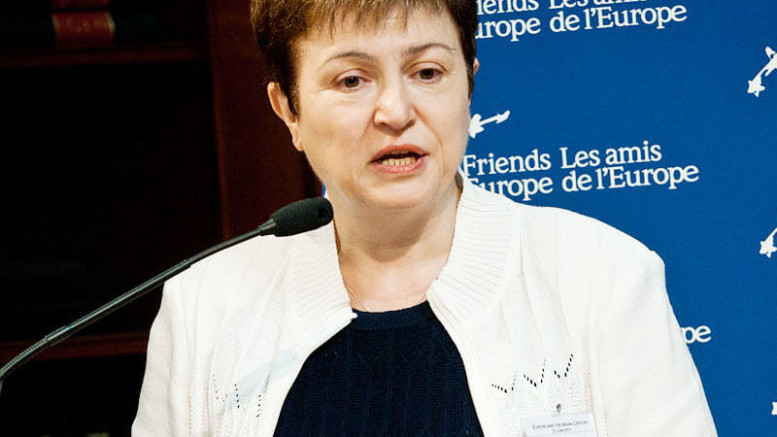 Kristalina Georgieva, World Bank Chief Executive Officer