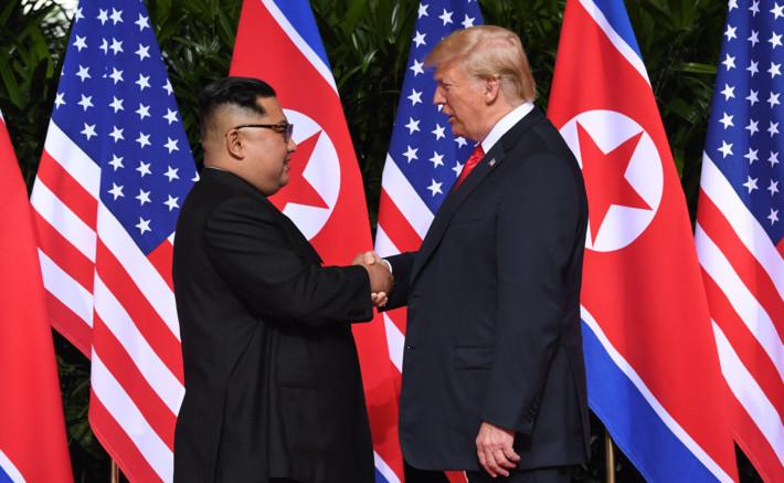President Trump and Kim