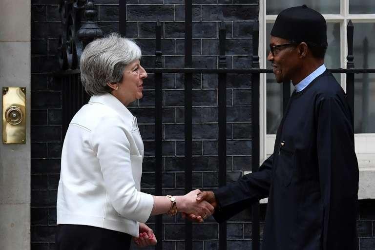 Buhari and Theresa May 2