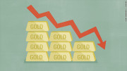 gold prices plunge
