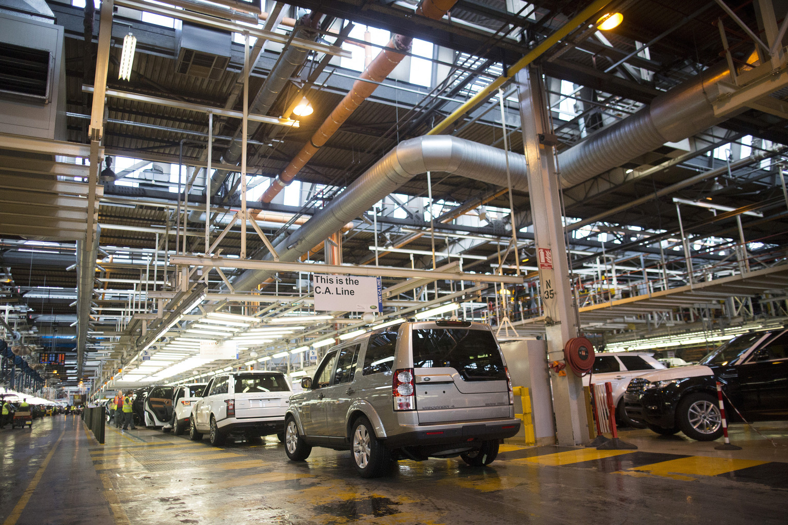 Sales Gain For Jaguar And Range Rover