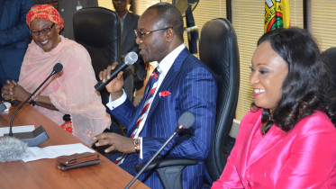 MINISTER-OF-STATE-FOR-PETROLEUM-ASSUMES-DUTY-IN-ABUJA