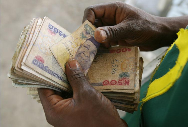 Nigeria 500 naira notes