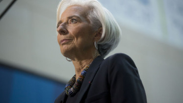 Christine Lagarde, managing director of International Monetary Fund
