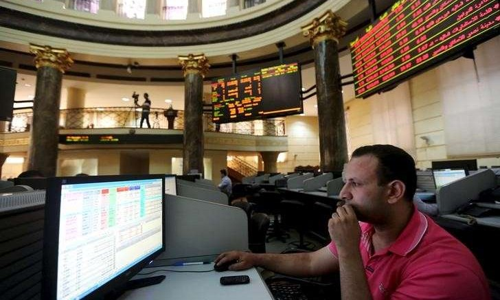 Egyptian Stock Exchange in Cairo