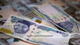 500 and 1000 naira bills (Nigerian currency)