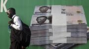 Nigerian 1000 Naira notes