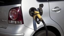 Nigerian petrol station