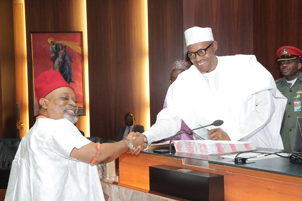 President Buhari and Dr